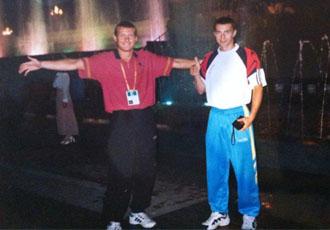 Кадр Дня: Узєлков та Сенченко 16 років тому