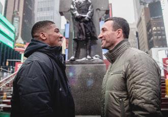 Кличко і Джошуа зустрілись в Нью-Йорку (ФОТО)