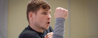 Тренування Берінчика і Малиновського перед шоу 23 квітня в Палаці спорту (ФОТО)