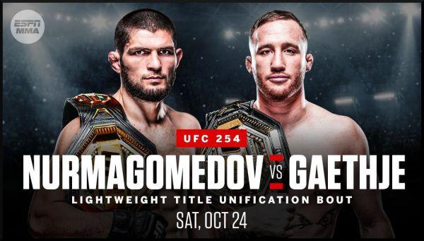 Промо до бою Нурмагомедов-Гетжі від UFC (ВІДЕО)