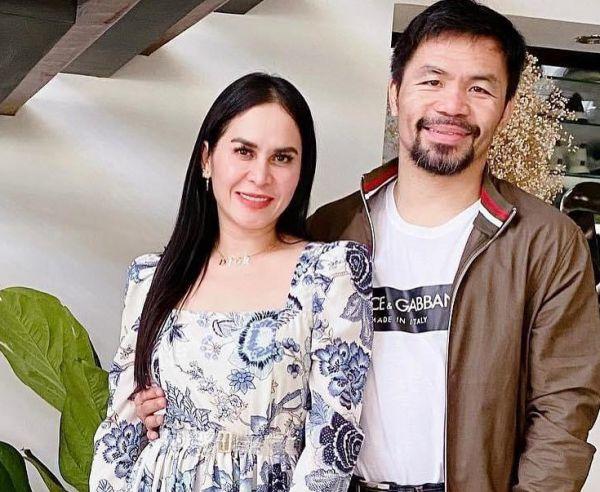 Менні Пакьяо з дружиною Джінкі (ФОТО)