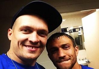 Як Усик та Ломаченко танцювали на Дні народження Василя (ВІДЕО)