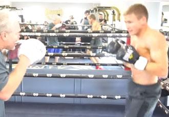 Як білоруський чемпіон займається з Роачем (ВІДЕО)