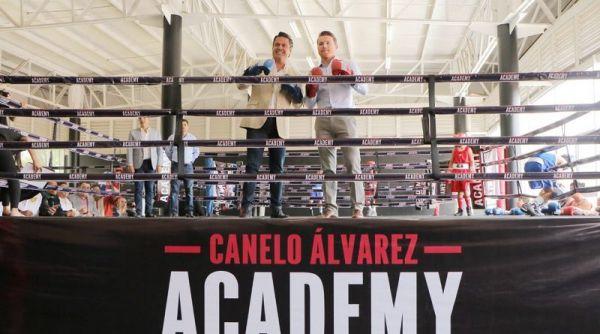 Альварес відкрив Академію боксу Гвадалахарі (ФОТО)