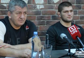 Батько Нурмагомедова покарає сина