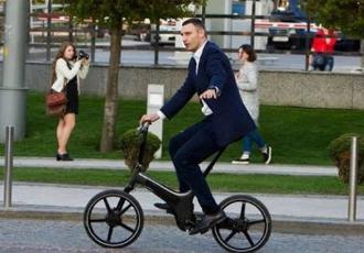 Кличко проїде 5 тис.км на велосипеді (ВІДЕО)