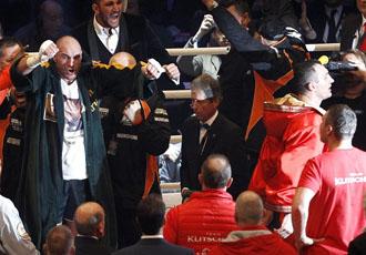 Як Кличко програв усі пояси Тайсону Фьюрі (ФОТО)
