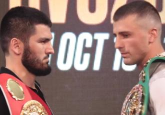 Гвоздику подарували перстень з логотипом WBC (ВІДЕО)