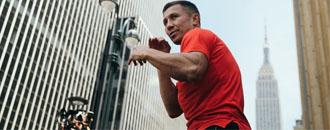 Головкін провів своє перше відкрите тренування після повернення (ФОТО)