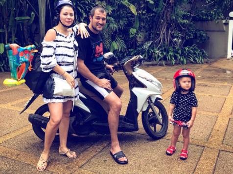 Ковальов з родиною на острові Самуї (ФОТО)