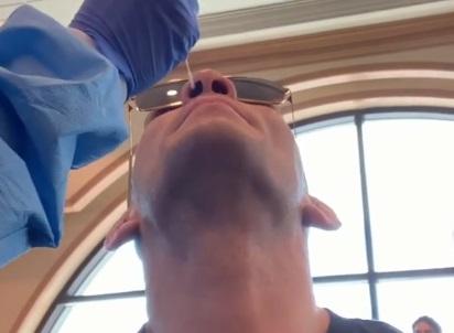 Фергюсон здав тест на коронавірус (ВІДЕО)
