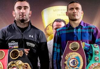 Усик та Гассієв показали однакову вагу на церемонії зважування (ВІДЕО)