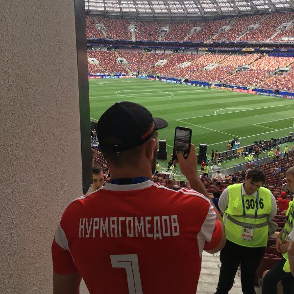 Нурмагомедов здійснив свою мрію (ФОТО)