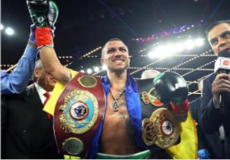 Чемпіон світу в легкій вазі за версіями WBA, WBO В...