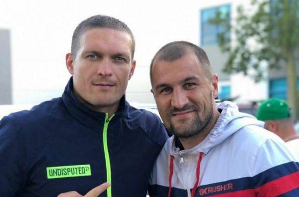 Усик провів спільне тренування з Ковальовим (ФОТО)