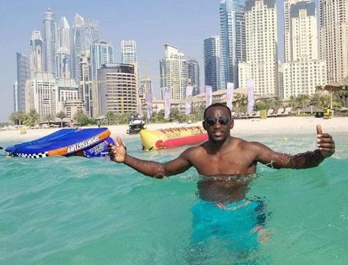 Кроуфорд відпочиває в Дубаї (ФОТО)