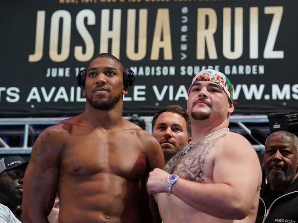 Тренер Джошуа: Руїса недооцінюють, хоча він боксер світового класу