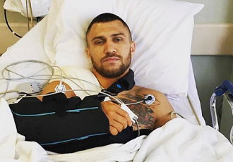 Кадр Дня: Ломаченко після операції