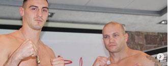 Сіренко та Захожий зважились перед боями з аргентинцями в Німеччині (ФОТО)