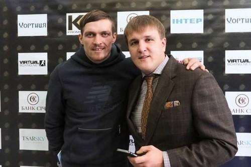 Красюк: Усик хотів би оскаржити вакантний титул WBO