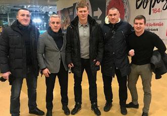 Потенційні суперники Усика відправились на збори в Сибір (+ФОТО)