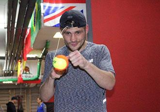 Берінчик - про свій стиль боксу