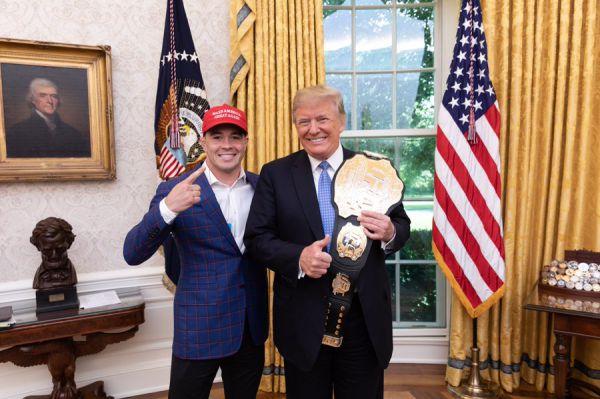 Ковінгтон до Трампа: З вами, містер президент, я б не хотів битися
