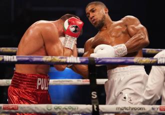 Британський боксер Ентоні Джошуа (24-1, 22 KO)  за...