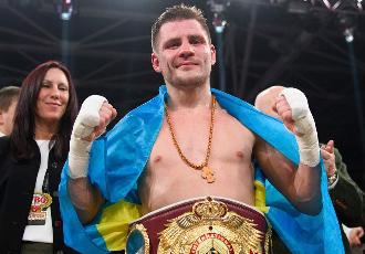 Український напівважковаговик 33-річний Олександр ...