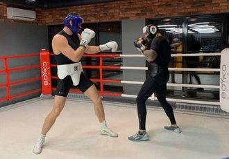 Руденко спарингує із Захожим перед титульним боєм (ФОТО)