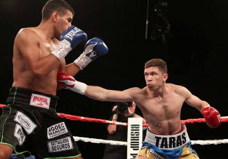 Український боксер напівсередньої ваги Тарас Шелес...