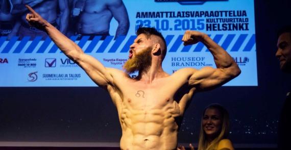 Бійця UFC змушують збрити бороду перед сьогоднішнім шоу (ФОТО)