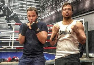Кадр Дня: Брати Чадові на боксерському тренуванні