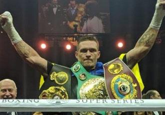 Американське видання визнало українця найкращим боксером року