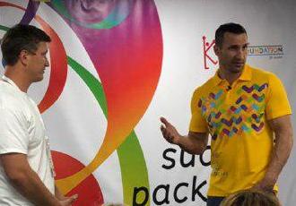 Володимир Кличко провів лекцію для вчителів фізкультури (ФОТО)
