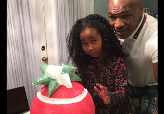 Кадр Дня: Майк Тайсон з донькою