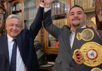Енді Руїс зустрівся із мексиканським президентом (ФОТО)