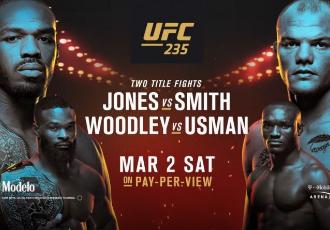 Всі результати турніру UFC 235