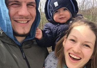 Кадр Дня: Крилов показав свою щасливу родину