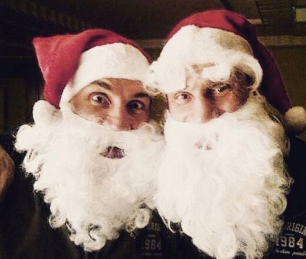Брати Клички зустріли Новий Рік в Альпах (ФОТО)
