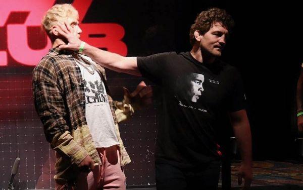 Блогер Джейк Пол і боєць Бен Аскрен зустрінуться в...