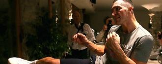 Володимир Кличко у поті чола готується до бою з Фьюрі (ФОТО)
