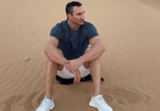 Кадр дня. Кличко знайшов спокій в пустелі