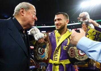 Арум: Ломаченко той боксер, який буде боротися одночасно в 3-х вагових категоріях