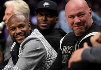 Шеф UFC: Я підписав контракт з Мейвезером