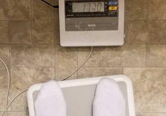 Кадр Дня: Кроуфорд набрав 17 кг