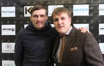 Олександр Красюк, промоутер Олександра Усика, висл...