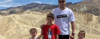 Гвоздик заїхав у Долину смерті (ФОТО)
