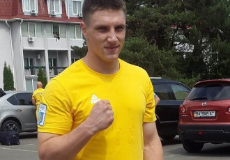 Український проспект суперважкої ваги Владислав Си...
