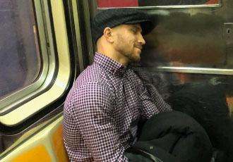 Ломаченко проїхався в Нью-Йоркському метро (ФОТО)